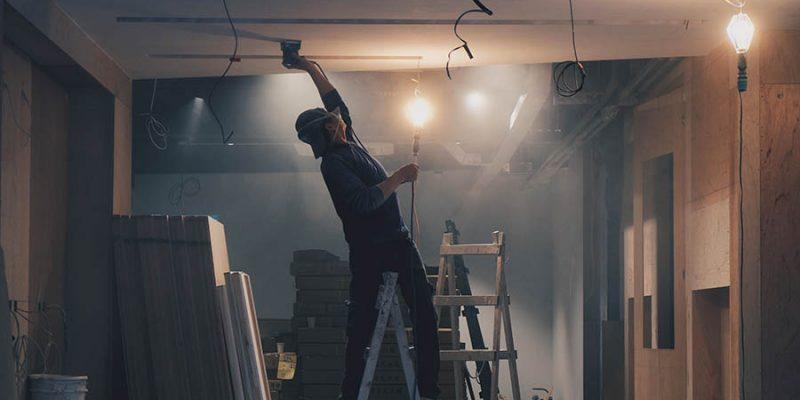 Sadrokartónová stena a sadrokartónový strop