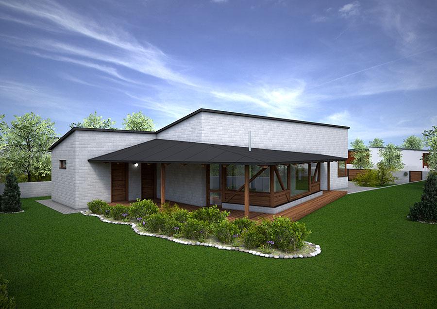Primula - bungalov na kľúč - 4+kk | STAVMAXBB