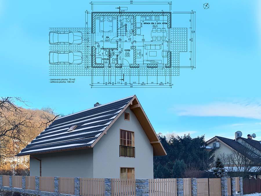 Projekty rodinných domov | STAVMAXBB